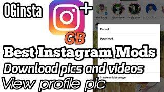 Top 3 Instagram Mod Apk | Best Instagram Mod Apk Ever 2018 [black Mod] Download Link 2018