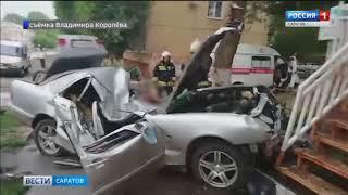 Смертельная авария при попытке уйти от преследования произошла в Энгельсе