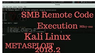 MS17-010 SMB Remote Code Execution