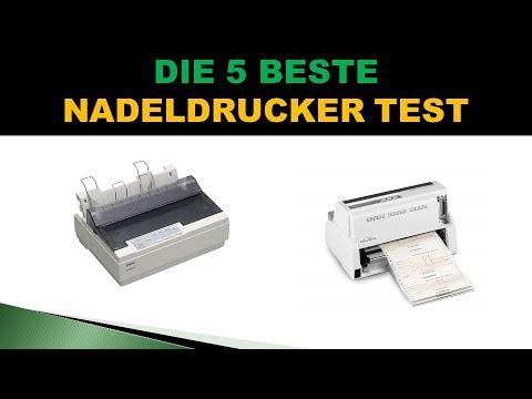 Beste Nadeldrucker Test 2020