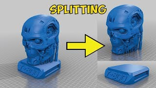 Tutorial: Splitting 3D models into parts for 3D printing, using Tinkercad