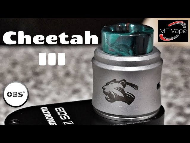 OBS Cheetah III RDA - Review, Rebuild - Innovative Squonk!