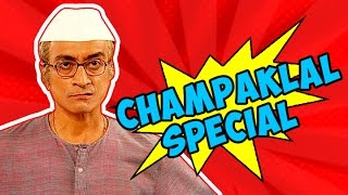 Champaklal Non-Stop Funny Scenes | Taarak Mehta Ka Ooltah Chashmah - Download this Video in MP3, M4A, WEBM, MP4, 3GP