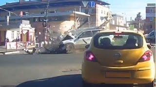 Car Crash Compilation June 2015 06 09