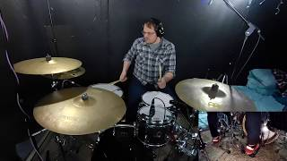 Bear Girl - Arctic Night Lights Drum Playthrough By Travodrums