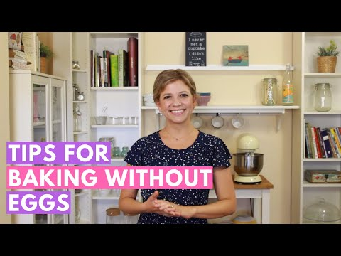 Video Vegan Baking without eggs: Our guide to simple egg replacers for baking