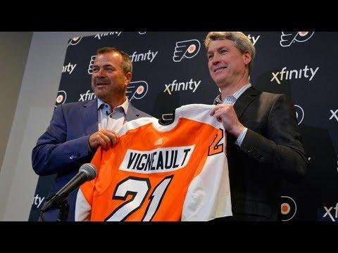 New Flyers HC Alain Vigneault gives opening statemen - Apr 18, 2019 • 02:22