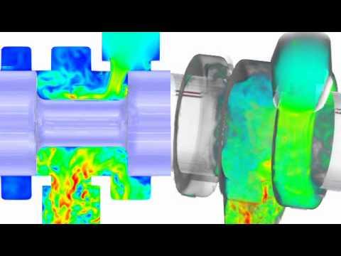 Analisi CFD - Commutazione Valvola 3 Vie