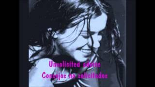 Alanis Morissette - Versions Of Violence subt (ing-esp)