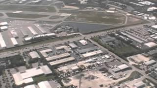 T-28C flight into Naples, FL KAPF