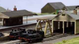 preview picture of video 'WADEBRIDGE by John Greenwood seen at Railex Aylesbury May 2014'