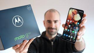 Motorola Moto G100 - Unboxing, Tour & Docking!
