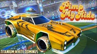 Titanium White Dominus - Pimp My Rocket League Ride