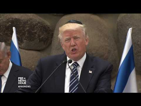 Short on specifics, Trump expresses optimism that Israelis and Palestinians 'can make a deal'