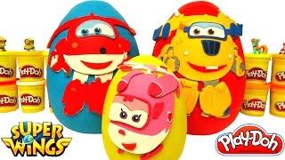 Harika Kanatlar 3 Sürpriz Yumurta Jett Dizzy Donnie Oyun Hamuru - Harika Kanatlar Oyuncakları