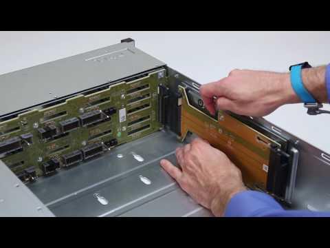Dell Storage SC7000 Series: Remove/Install Left Power Supply Interposer