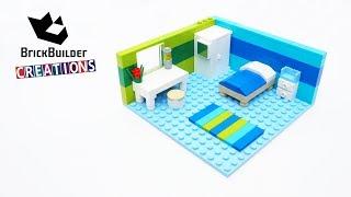 LEGO MOC BOYS BEDROOM | 133pcs | Brick Builder Creations