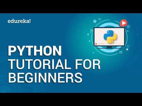Python Tutorial For Beginners | Python Crash Course – Python Programming Language Tutorial | Edureka
