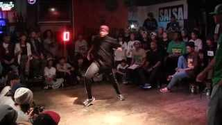 JIMMY vs NIAKO @ HIPHOP DANCE FOREVER JAPAN 2014 FINAL BATTLE