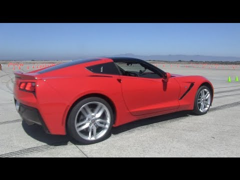 Testing the 2014 Corvette Stingray Z51 0-60 MPH