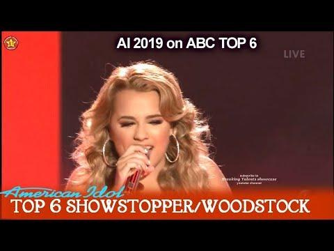 "Gabby Barrett sings own single ""I Hope"" Guest Performance She's Engaged    American Idol 2019 Top 6"