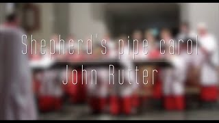 Shepherd's pipe carol van John Rutter - Kampen Boys Choir