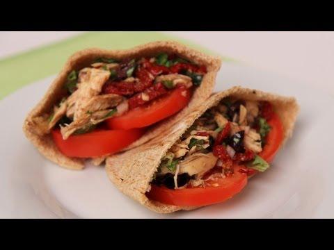 Chicken Pita Sandwich – Laura Vitale – Laura in the Kitchen Episode 446