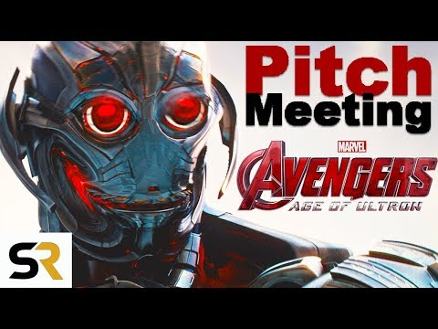 Avengers: Age Of Ultron Pitch Meeting