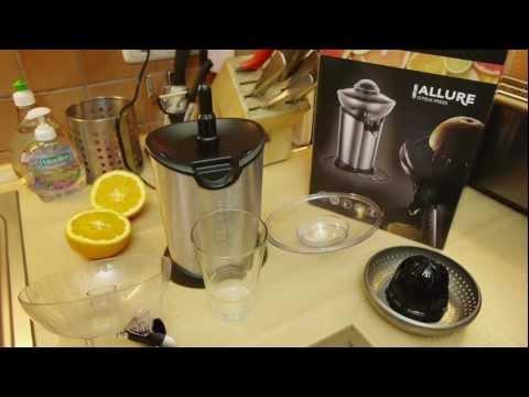 Test: Russell Hobbs Zitruspresse Citruspresse Citrus Press STYLO / ALLURE [VEGAN]