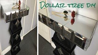 Dollar tree DIY/ Mirrored side table so glamorous! | Kholo.pk