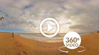 Kitesurf 360 VR 4K - Algarve   Portugal  #360video by UNKN Agency