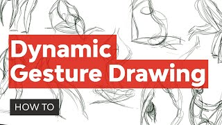 Create Dynamic Poses Using Gesture Drawing