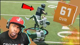 Making Kids Rage Quit With A 61 OVR Team! (MUT 20 No Money Spent Ep.1)