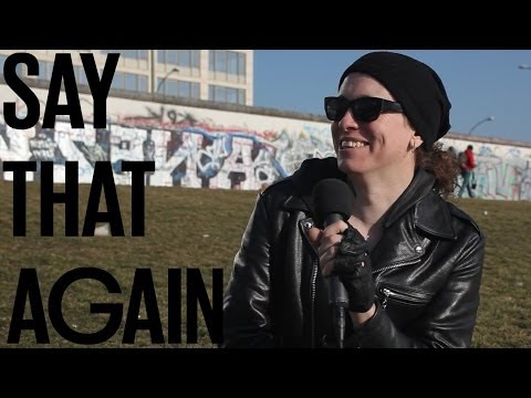Posterframe zu Say that again?! mit Laura Jane Grace (Against Me!)