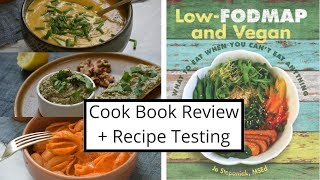 Low FODMAP Plant Based Recipes for IBS