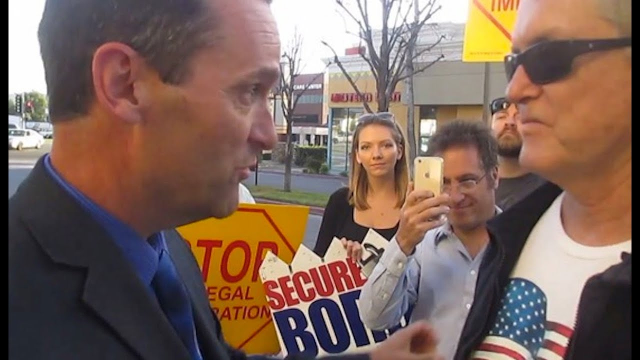 """Rep. Steve Knight Threatens Protester, """"I'll Drop Your Ass"""" thumbnail"""