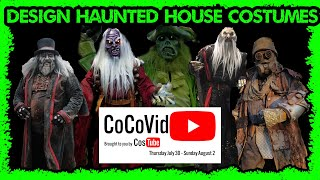 Designing costumes for haunted attractions