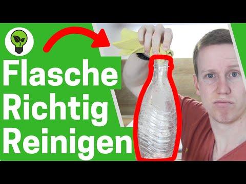 Flasche reinigen mit Reis & Kugeln ✅ ULTIMATIVE ANLEITUNG: Sodastream Glasflaschen & Karaffe putzen!