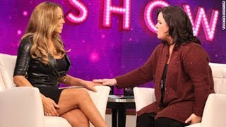 Mariah Carey   FUNNY MOMENTS With Rosie O'Donnel!