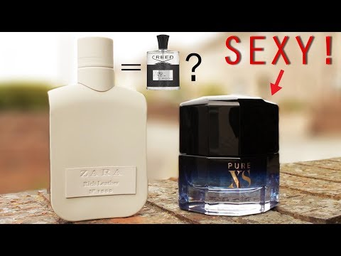 Pure XS & Zara Rich Leather Fragrance Reviews