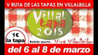 preview picture of video 'V Edición Ruta de las Tapas en Villalbilla ¡Villaltapa 2015!'