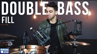 MONSTER Double Bass Fill   Drum Lesson   Drum Beats Online