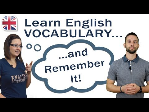 How to Learn English Vocabulary (and remember it!) - YouTube