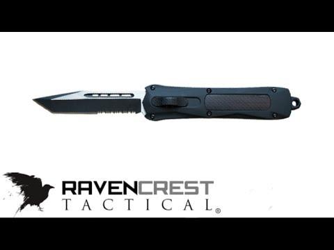 Ravencrest Tactical Spartan OTF knife review