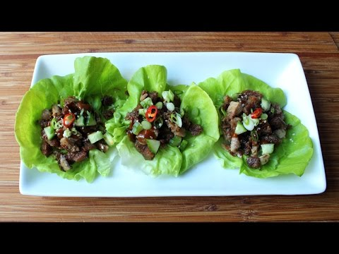 "Easy ""Peking Duck"" Lettuce Cups – Crispy Duck Lettuce Wraps Recipe"