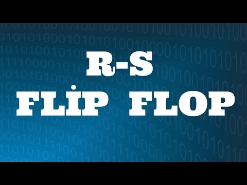 SAYISAL ELEKTRONİK DERSLERİ: RS Flip Flop