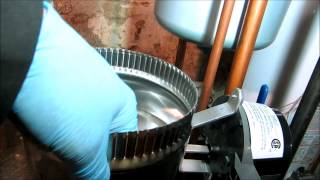 gas boiler no heat call bad vent damper
