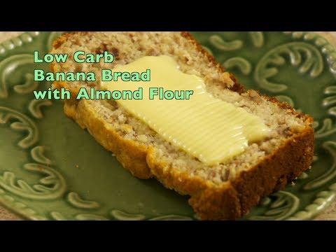 Almond Flour Banana Bread Lower Carb Gluten Free Wheat Free