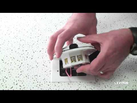 How to Install a Leviton Provolt (ODC) Occupancy Sensor