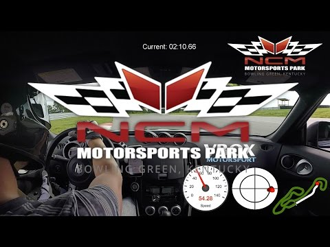 NCM Motorsports Park with VBOX SPORT